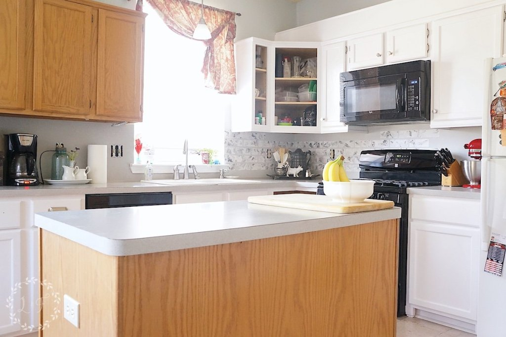 yellow cabinets kitchen how to customize a kitchen island with trim lost amp found 29512