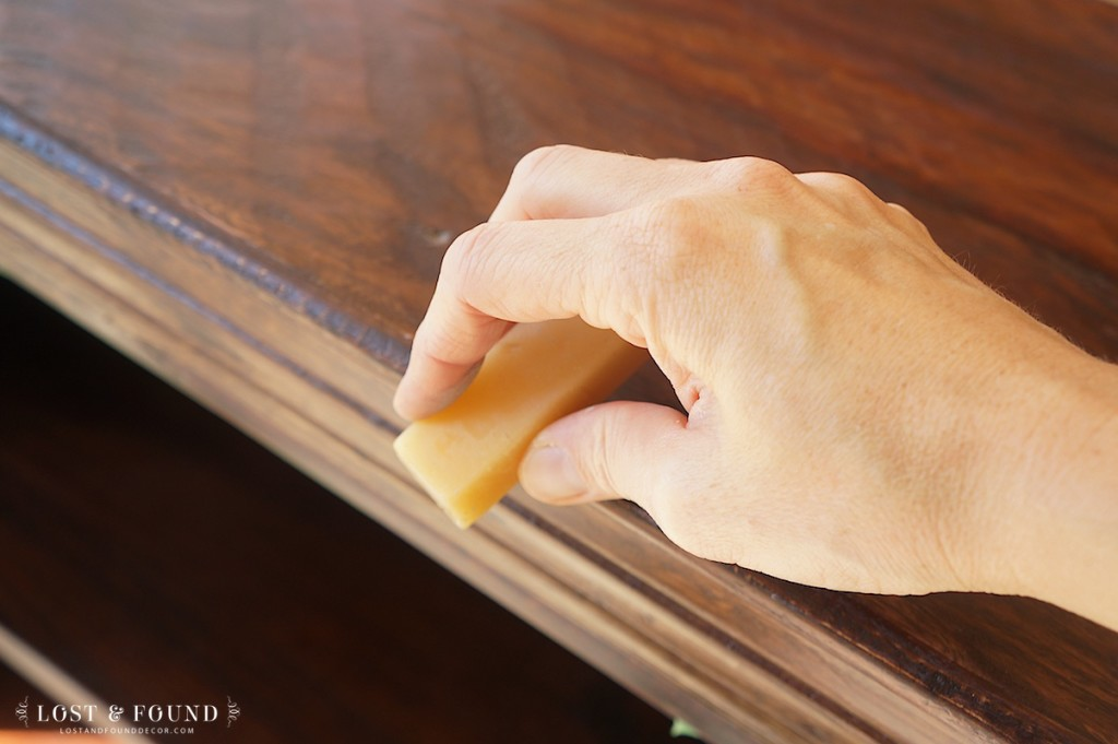 wax block trick