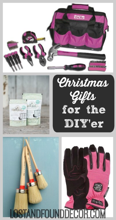 Christmas Gift Ideas for the DIY'er