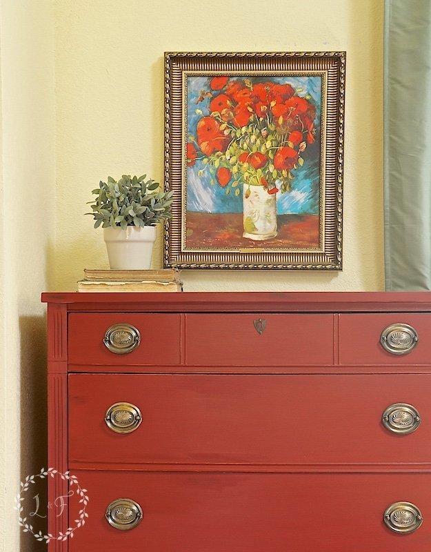 ft york red dresser 2