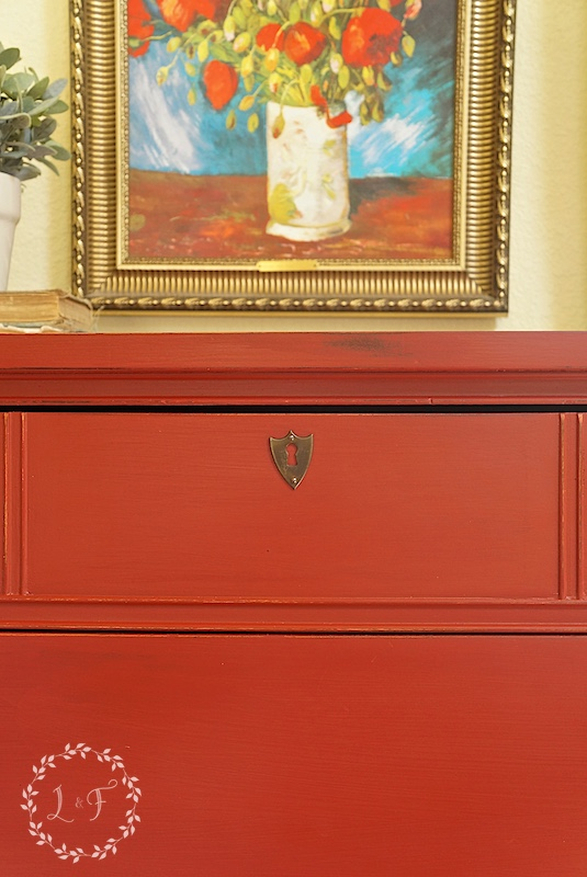 ft york red dresser 4