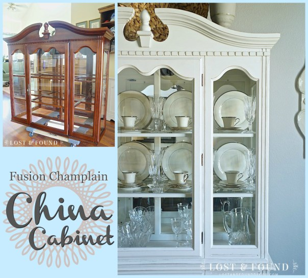 Champlain china cabinet