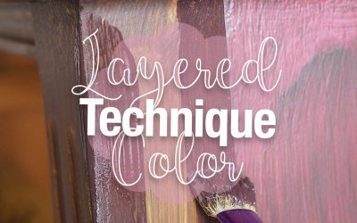 The Layered Color Technique – My Trick for Dealing With No-So-Pretty Paint