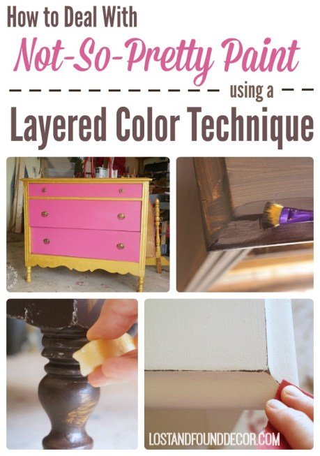 how to deal with ugly paint