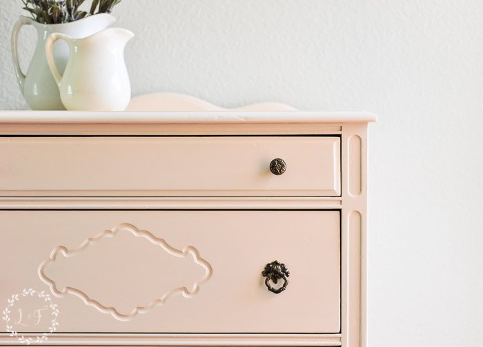 painted-pink-chest-of-drawers