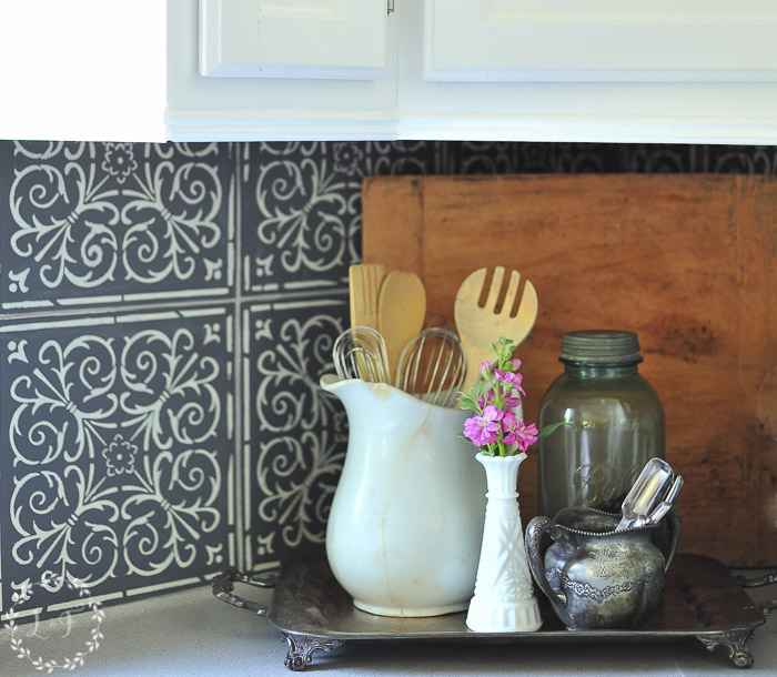 kitchen-makeover-stenciled-tiles-close-up