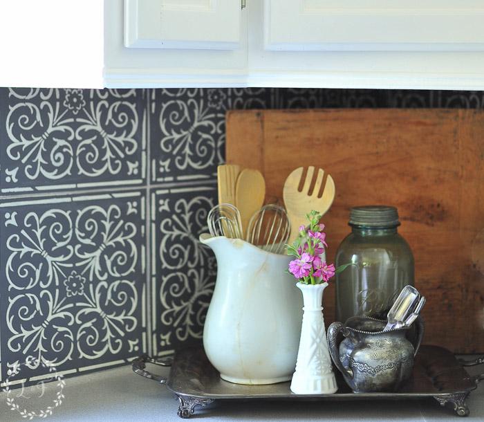 kitchen-makeover-stenciled-tiles-close-up