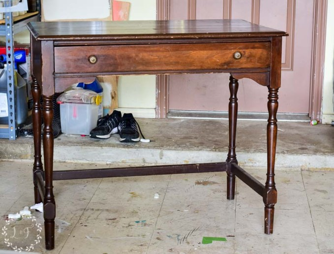 Fresh Writing Desk Makeover with MMS Milk Paint Kitchen Scale | Lost & Found TB98