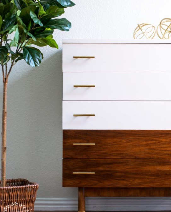 Mid Century Furniture Makeover | Fusion Mineral Paint Casement