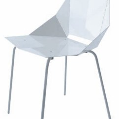 Real Good Chair Black Spandex Covers For Sale White Metal With Perforated Folds Lost And Found