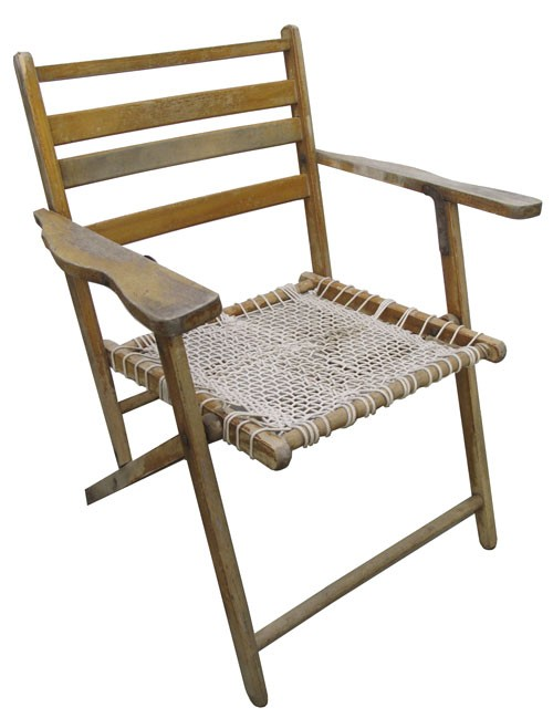 wooden frame beach chairs walmart outdoor folding rope chair with lost and found