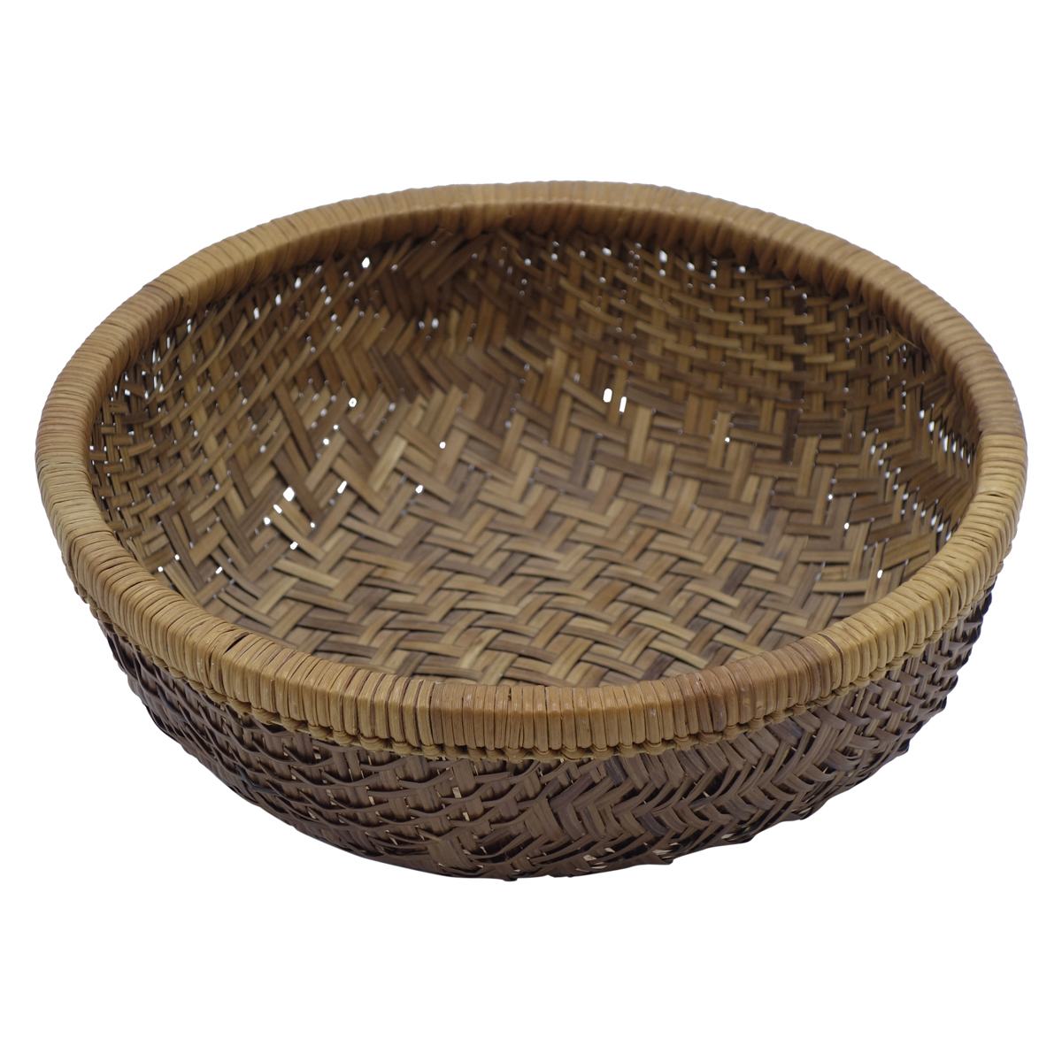 vintage round chinese basket