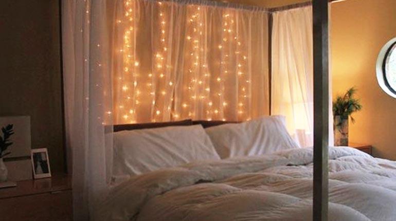 Ideas para decorar tu cuarto con luces  Los Tiempos