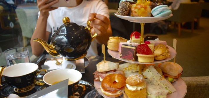 High Tea Wellington Intercontinental Lobby Lounge