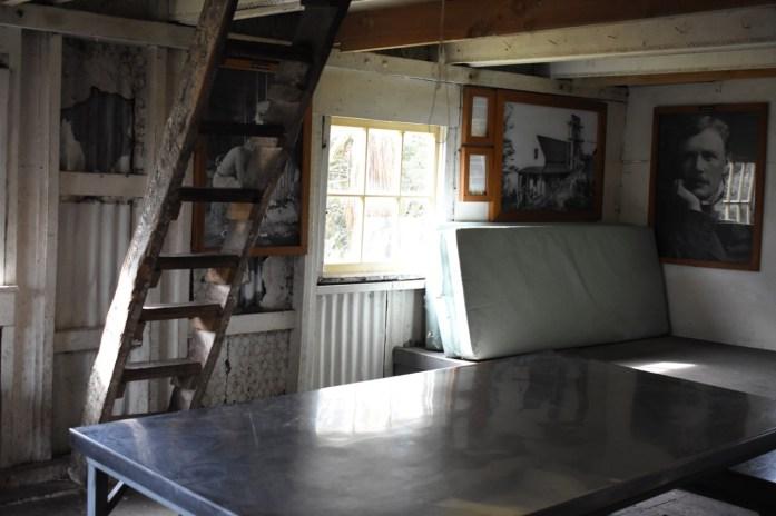 Historic Field Hut Interior