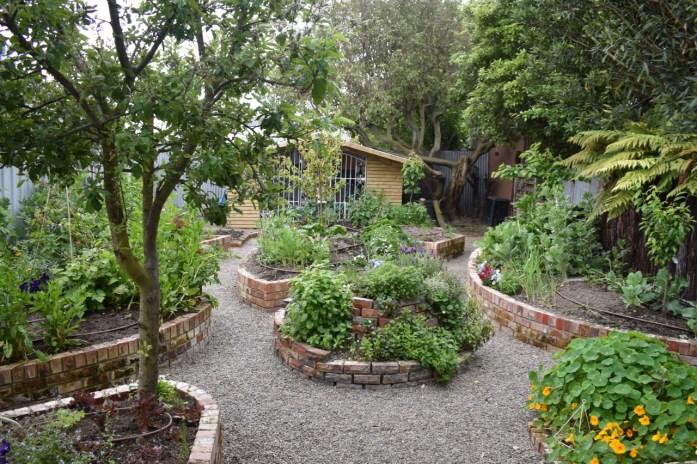 Eco Villa Christchurch Edible Garden