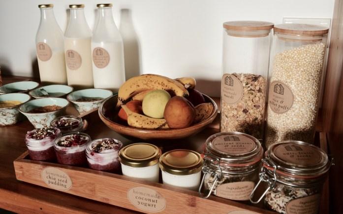 Eco Villa Christchurch Breakfast