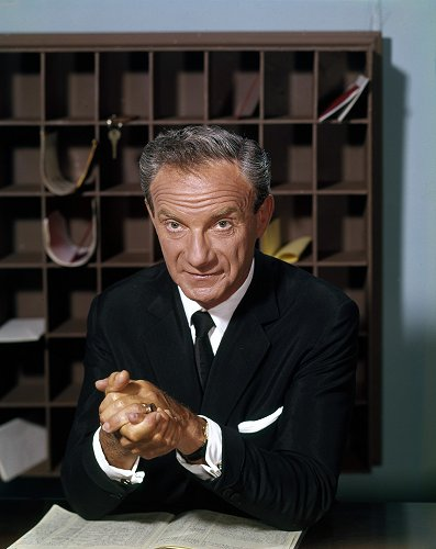 Jonathan Harris as Mr. Phillips on The Bill Dana Show