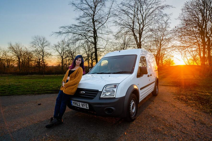 Ford Transit Connect Camper >> I M Converting A Ford Transit Connect Into A Camper Van