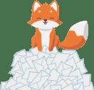 Illustration Cleanfox pour réduire pollution numérique RSE TPE PME