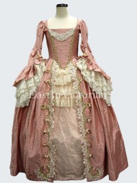 Gorgeous 18th Century Marie Antoinette Rococo Dress Ladies ...