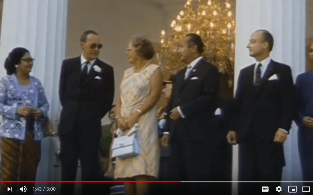 Queen Juliana in Jakarta 1971