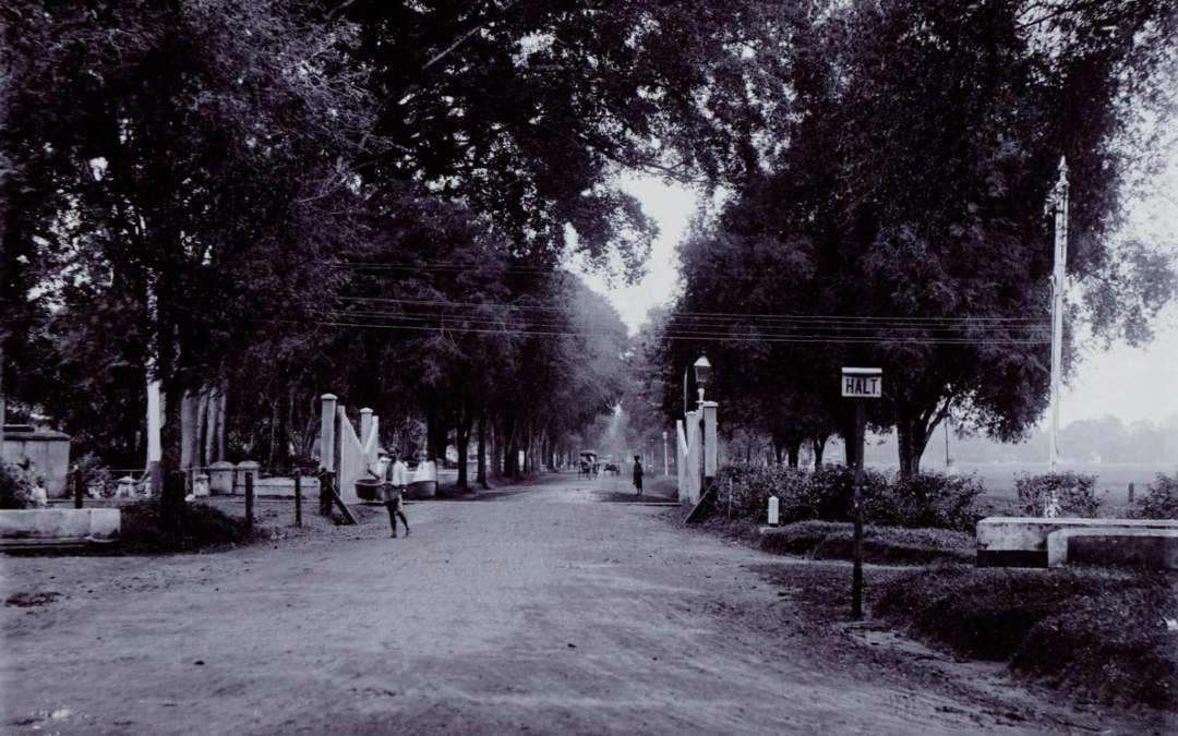Jalan Medan Merdeka Selatan 1880s