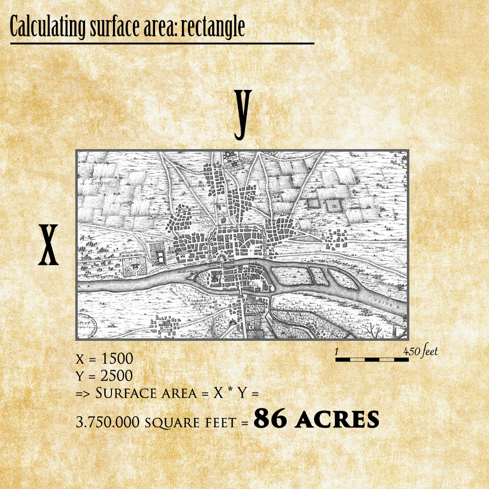 Calculating surface area in Photoshop