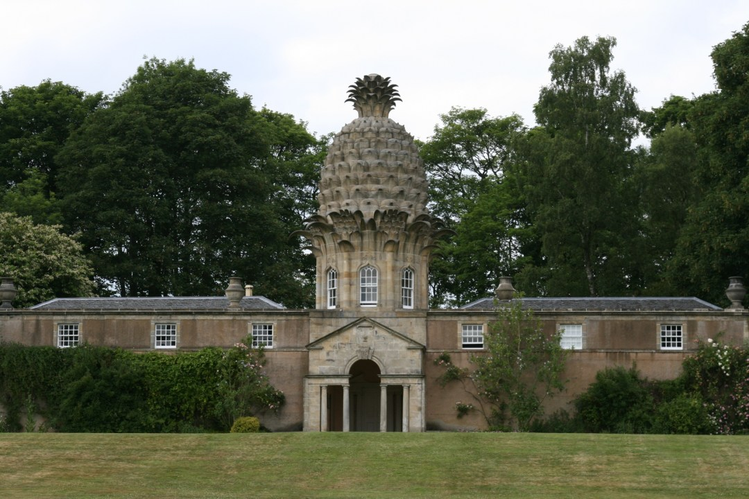 "The Dunmore Pineapple, a folly ranked ""as the most bizarre building in Scotland"