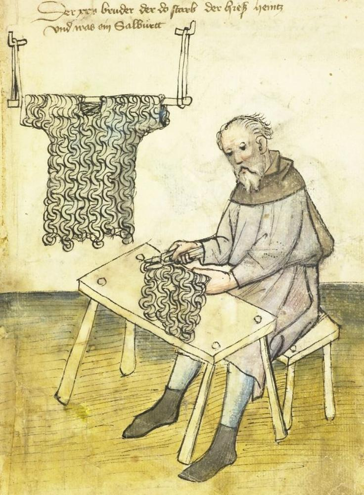 Unusual Medieval Profession Chainmail