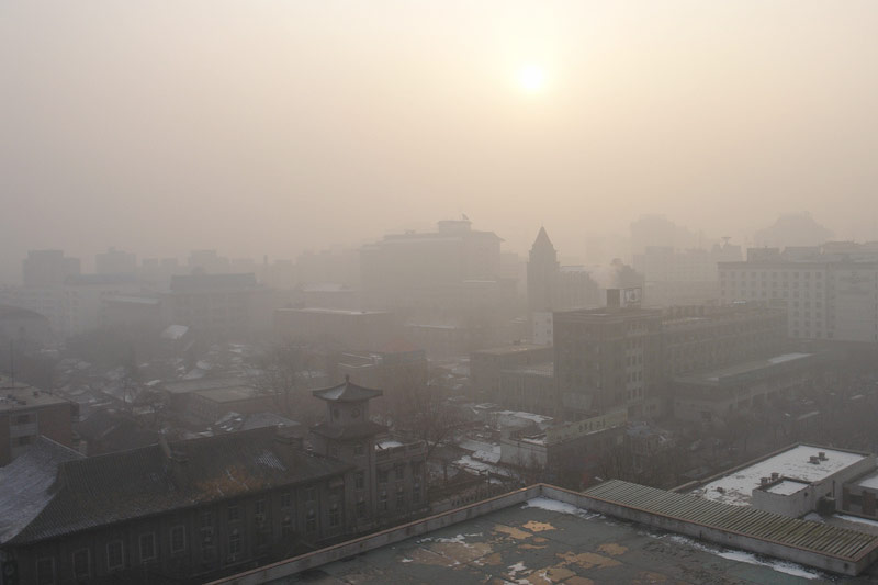 Beijing Morning by J Aaron Farr