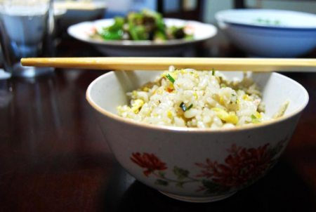 Photo: Chinese Egg Fried Rice (Dan Chao Fan)