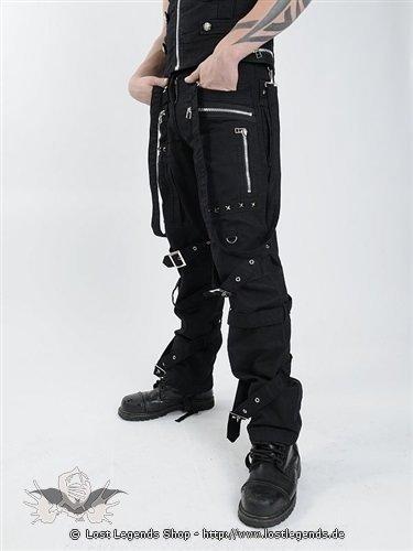 Gothic Hose mit vielen Schnallen und Nieten  Hosen