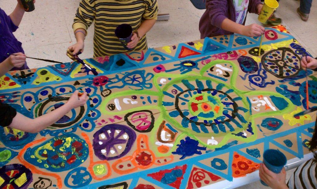 Kid's Circle Painting