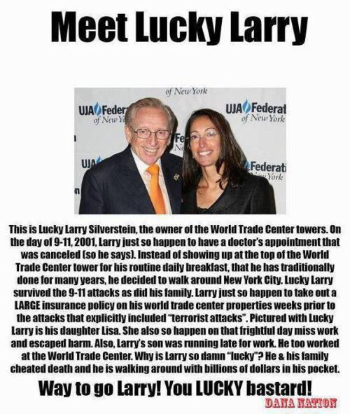 Lucky Larry Silverstein