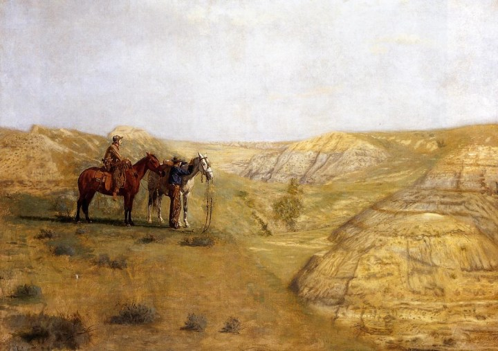 Cowboys in the Badlands, Thomas Eakins, 1888.