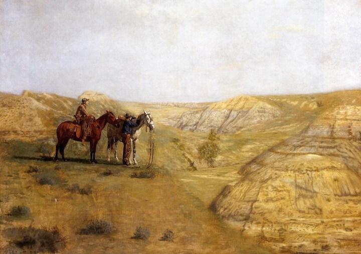 Cowboys in the Badlands, Thomas Eakins, 1888.