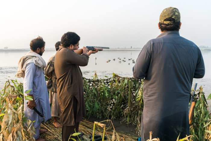 Pakistan bucket list - Duck hunting in Mardan - Lost With Purpose travel blog