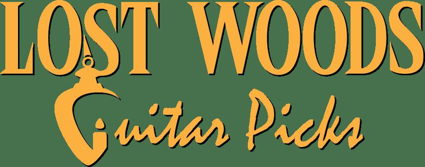 Lost Woods Guitar Picks Logo