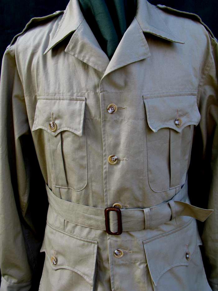 Australian Bush Poplin Safari Jacket