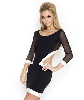 vestidos-cortos-sexys-negro-lipsy