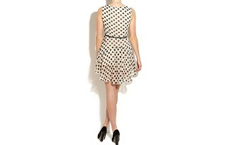 vestidos-cortos-lunares-años-60-antiguos