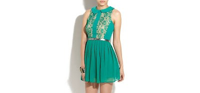 vestidos-cortos-vestido-verde-antiguo-new-look