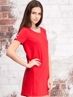 vestido-rojo-stradivarius