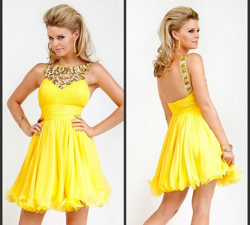 Customized-Free-Shipping-Chiffon-Mini-font-b-Graduation-b-font-font-b-Dresses-b-font-font