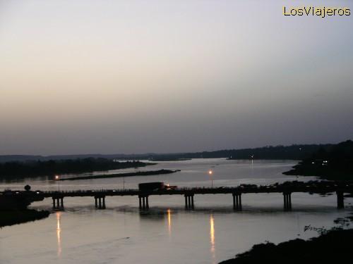 Puentes sobre el rio Niger -NiameyBridges over Niger river - Niamey -Niger
