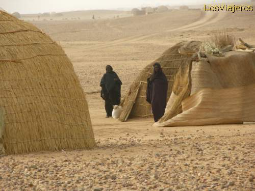 Poblado Tuareg - NigerTouareg village- Niger
