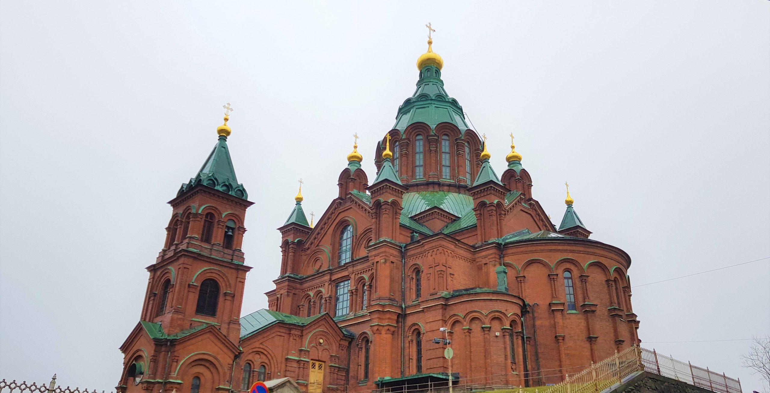 Exterior de la catedral de Uspenski