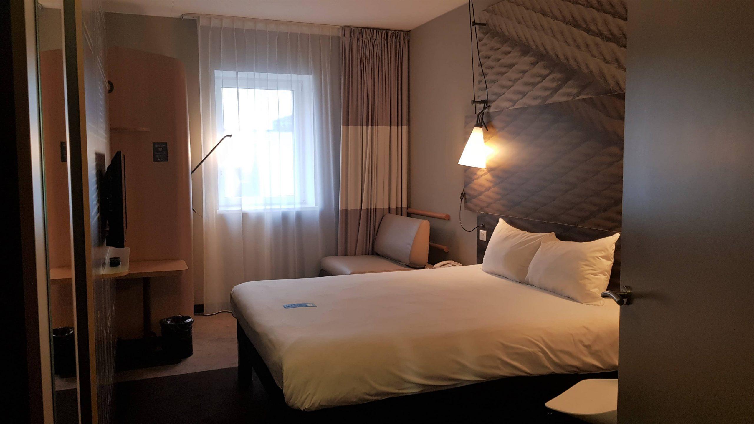 Interior del hotel Ibis centre en Vilna