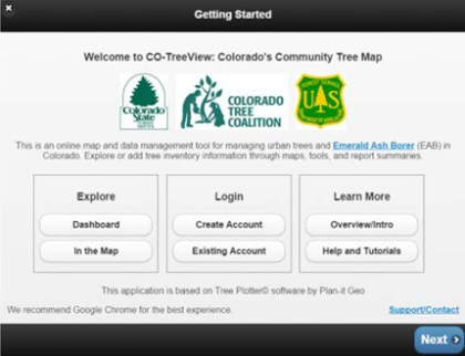 A screen shot from CO-Tree View